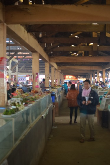 northern laos morning market