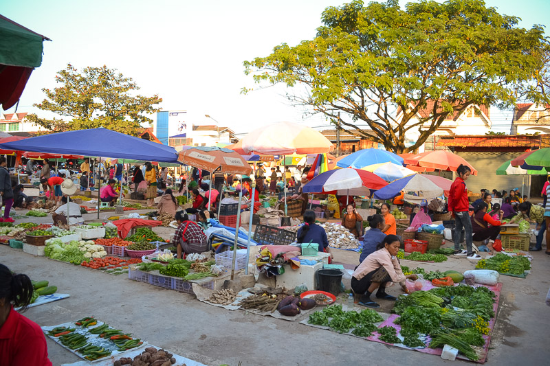 market Northern Laos