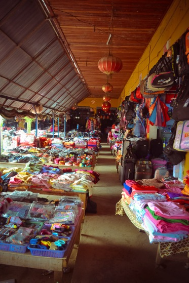 Chinese market Northern Laos