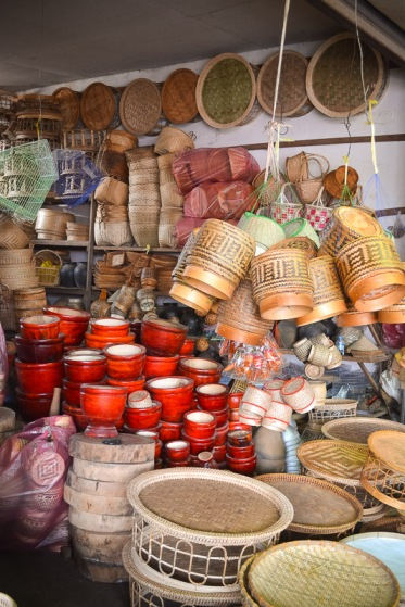 baskets Northern Laos