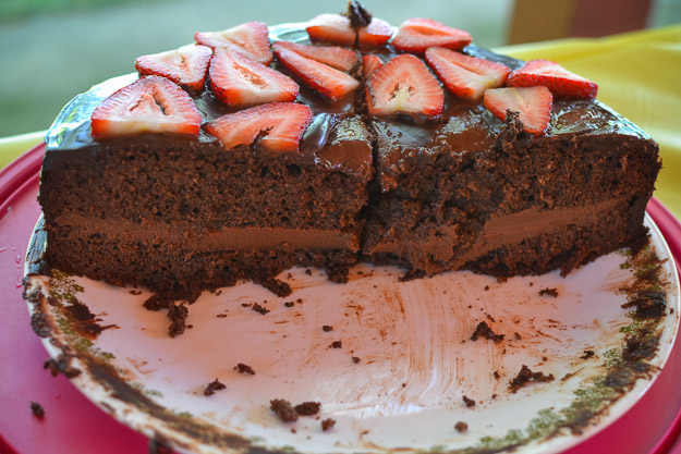 2014-07-31 Paleo chocolate birthday cake by Melissa Crossett-14