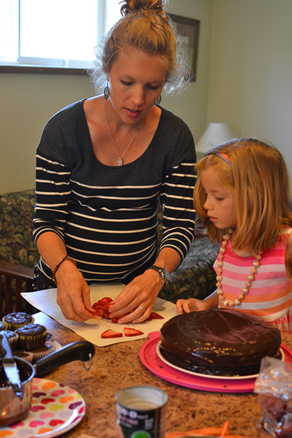 2014-07-31 Paleo chocolate birthday cake by Melissa Crossett-3