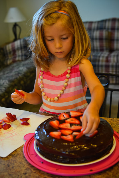 2014-07-31 Paleo chocolate birthday cake by Melissa Crossett-4