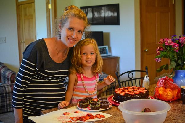 2014-07-31 Paleo chocolate birthday cake by Melissa Crossett-5