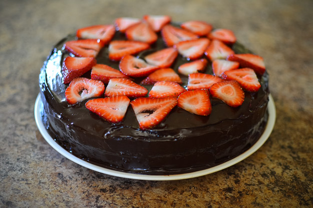 2014-07-31 Paleo chocolate birthday cake by Melissa Crossett-6