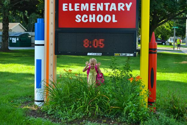 kindergarten for a month by Melissa Crossett-5